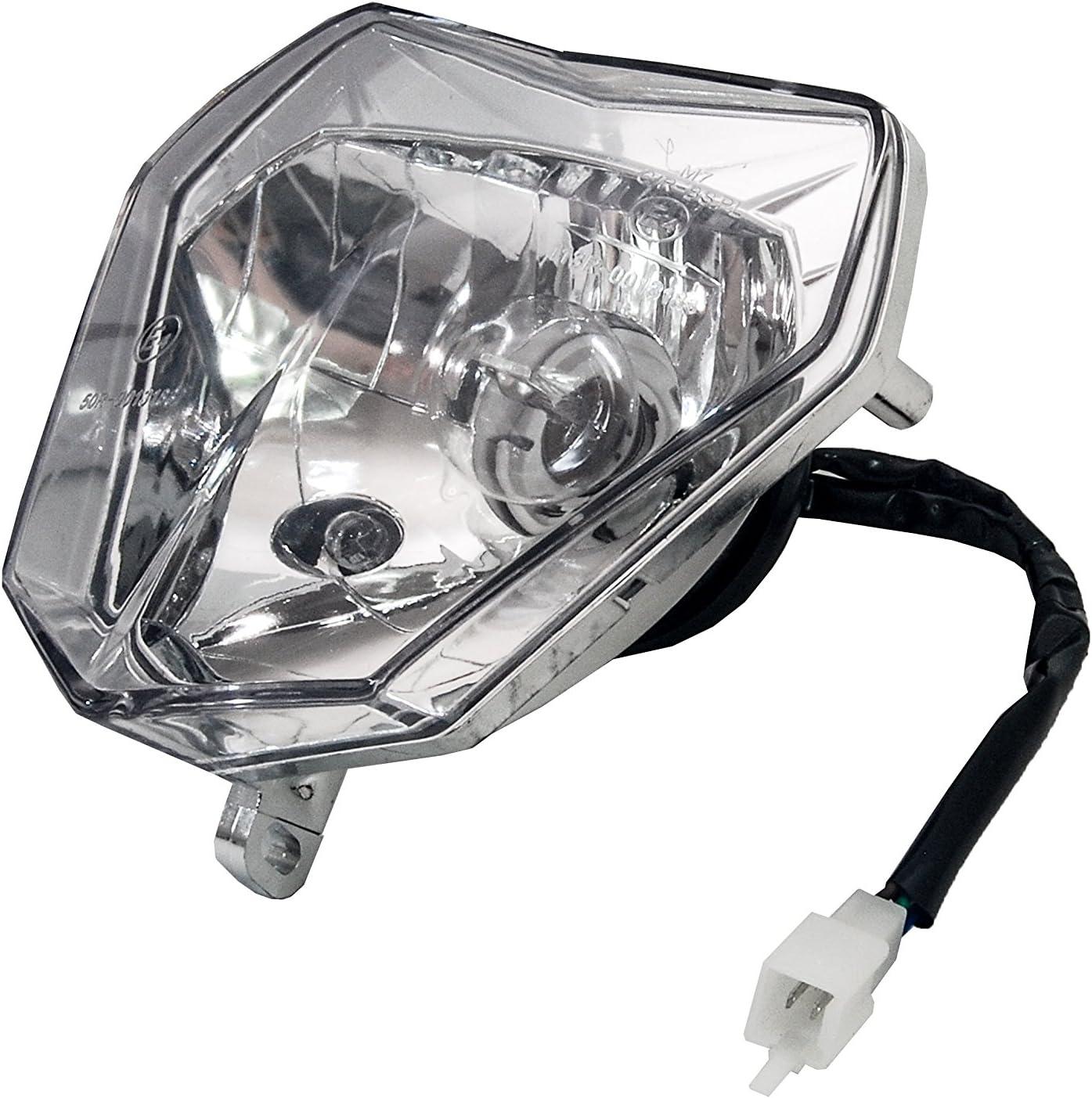 Plastic Headlight Head Light Lamp StreetFighter For KTM SX SXF XC EXC XCW Orange