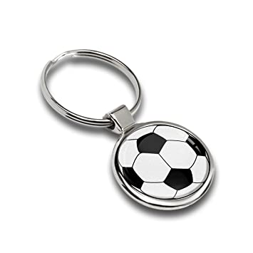 Llavero Fútbol Balón Metal Keyring Gift Llave de Coche ...