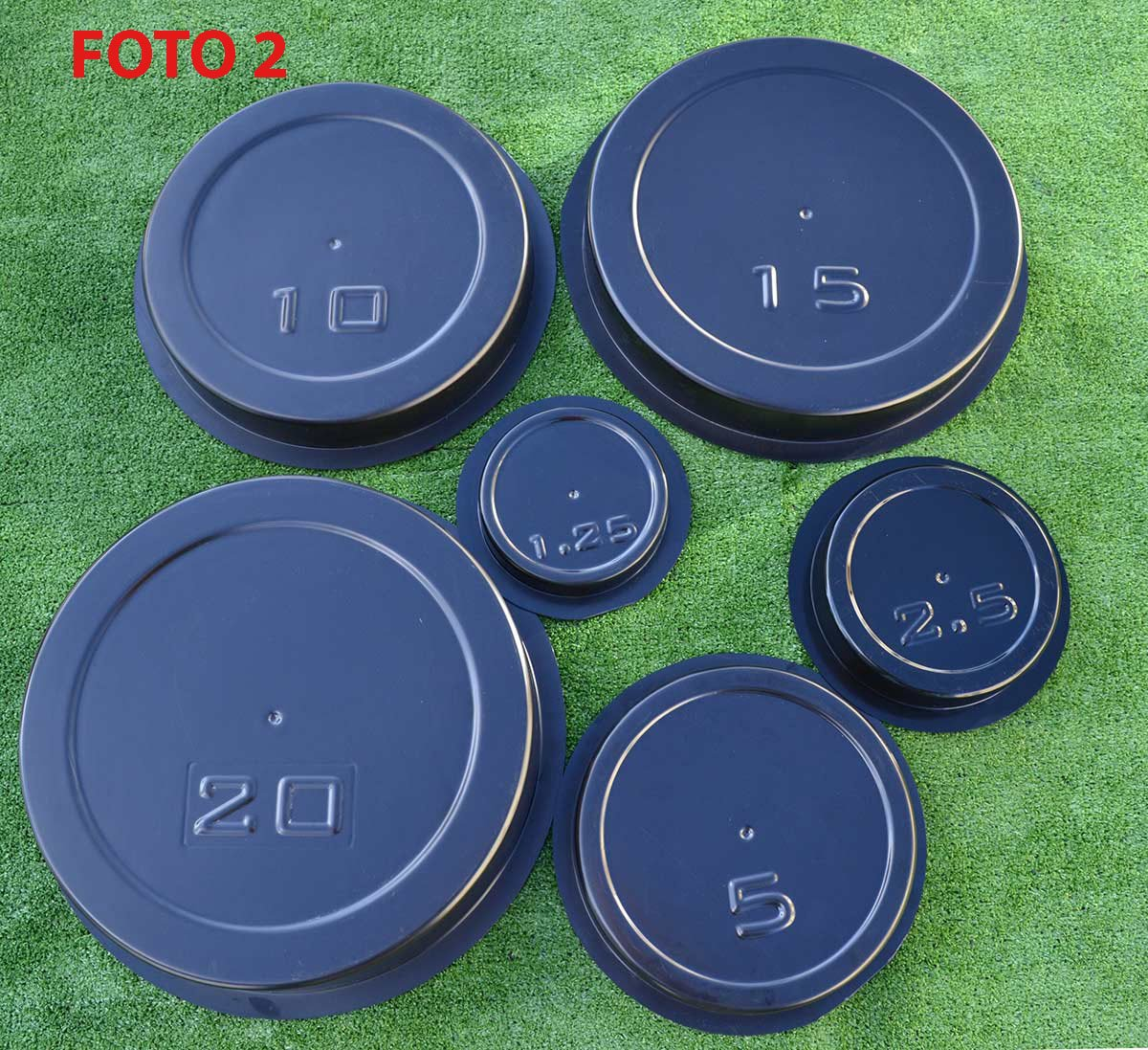Amazon.com : SET 6 pcs MOLDS casting CONCRETE WEIGHT PLATES BARBELL DISCS OLYMPIC LIFTING : Sports & Outdoors
