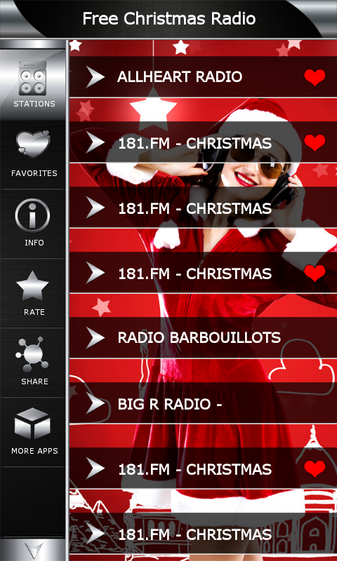 amazoncom free christmas radio appstore for android - What Is The Christmas Radio Station