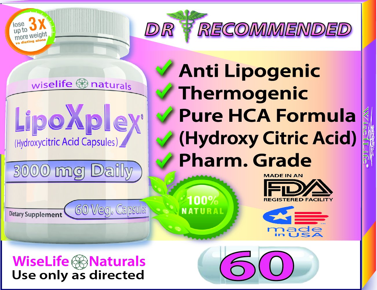 LipoXplex Dr. Recommended Max Strength Weight Loss, Metabolism Booster Fat Burning Diet PIll That Work for Women as Appetite Suppressant Increase Calorie Burn to Lose Belly Fat Fast Guaranteed Results