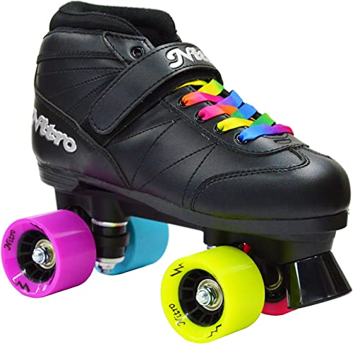 Epic Super Nitro Rainbow Quad Roller Skates