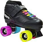Epic Super Nitro Rainbow Quad Roller Skates