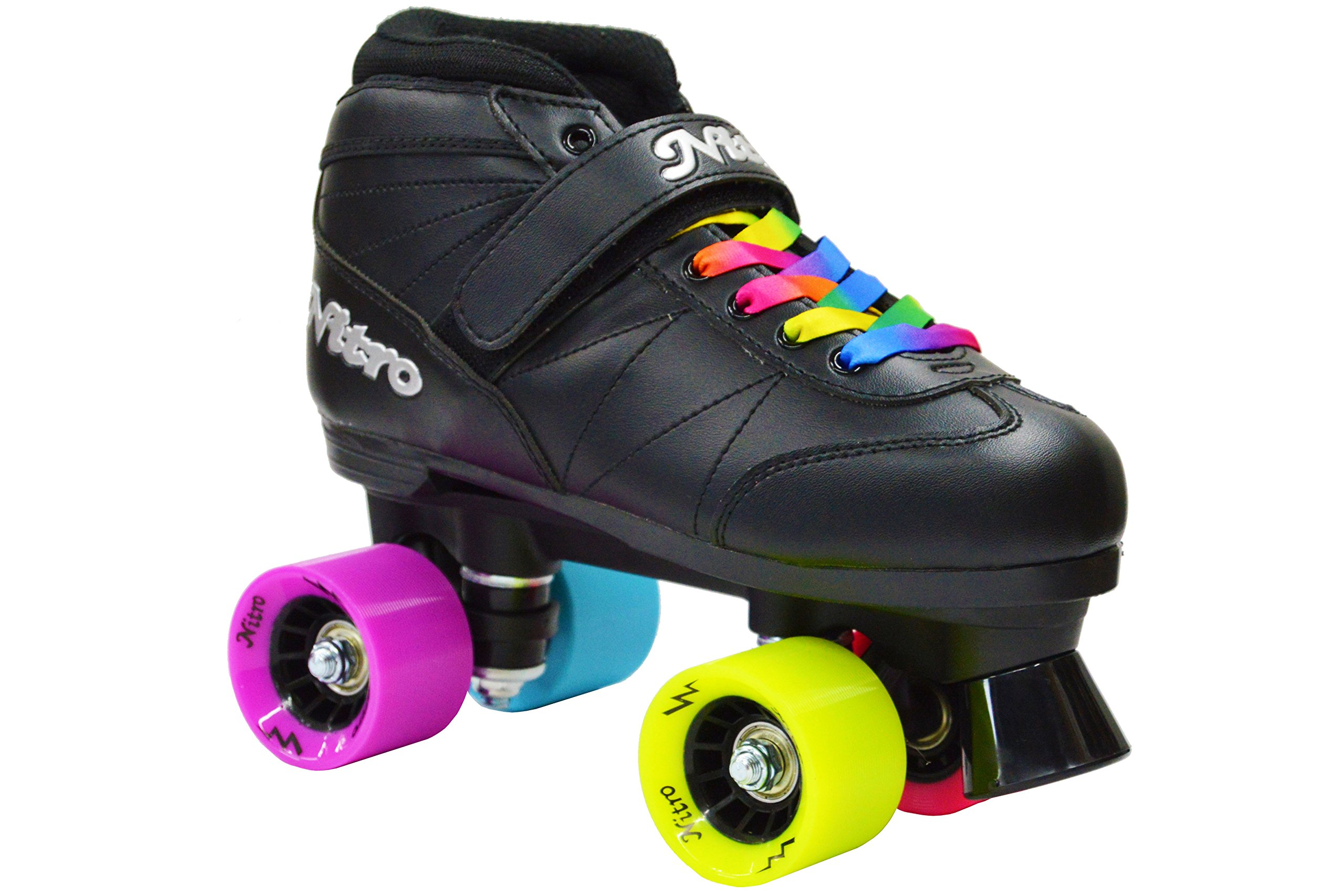 Epic Skates Men's Super Nitro Rainbow, Size 5