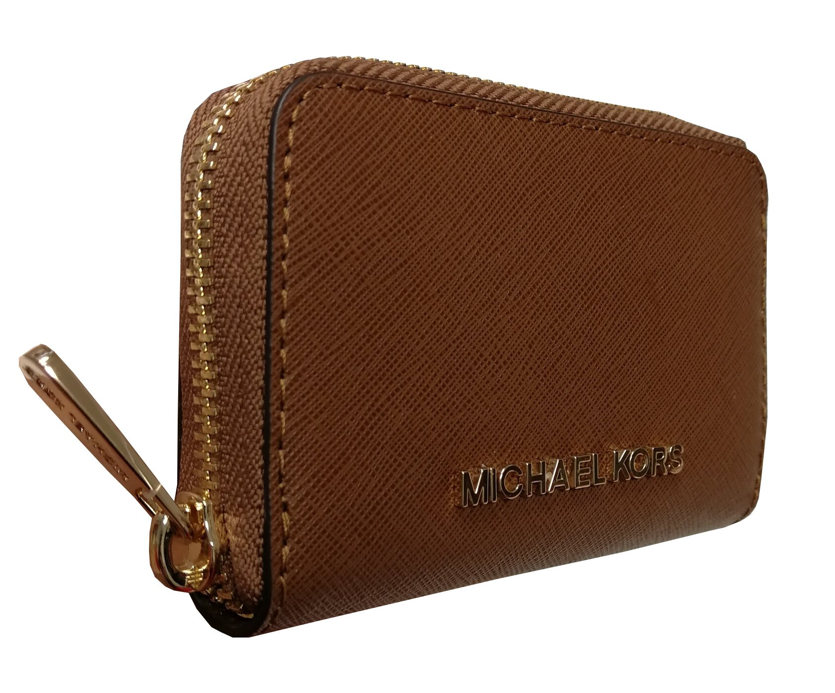Michael Kors Jet Set Travel Zip Around Coin Case Leather Wallet Luggage by Michael Kors (Image #3)