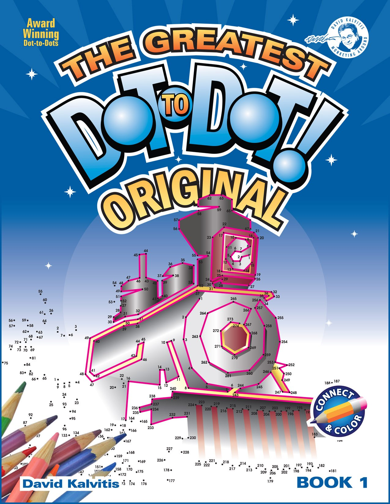 Greatest Dot-to-Dot Book in the World (Book 1) - Christmas Gift - Relaxing Puzzles pdf