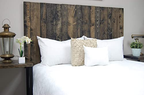 Ebony Headboard King Size Stain