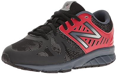 New Balance Boys' KJ200 Running Shoe, BlackRed, 10.5 Medium US Little