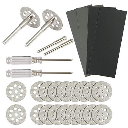 20 PCS Diamond Cutting Wheel KAKOO Cut Off Discs Rotary Tool