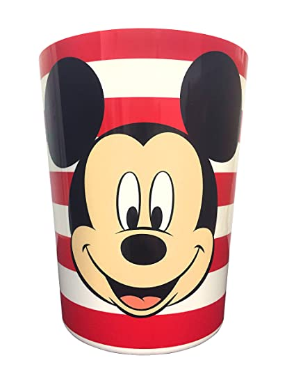 Mickey Mouse Full Bath Set Shower Curtain Hooks And Hand Towel