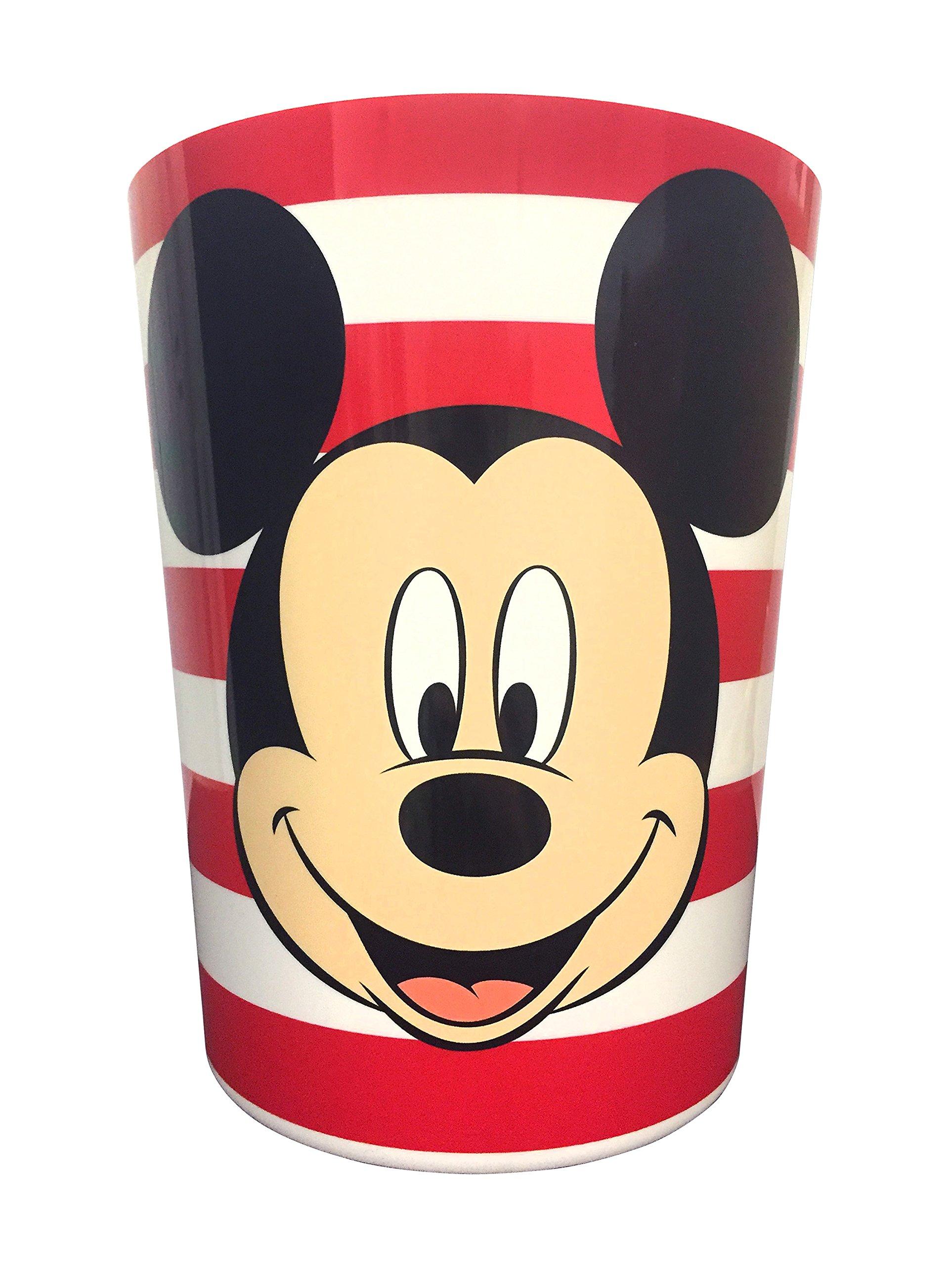Mickey Mouse Full Bath Set, Shower Curtain, Hooks. Bath and Hand Towel, Foam Rug, Toothbrush Holder, Wastebin and Soap Pump