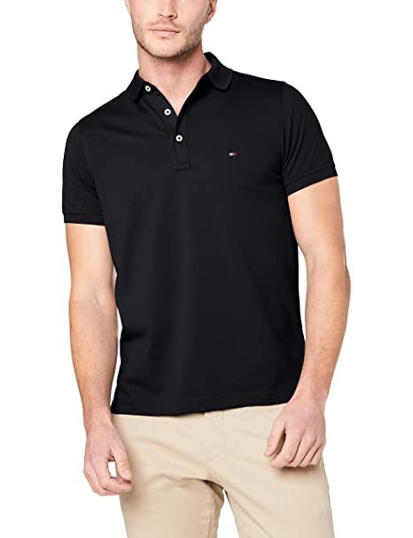 finest selection b7fbb ed930 Tommy Hilfiger Men's Core Hilfiger Slim Polo Shirt