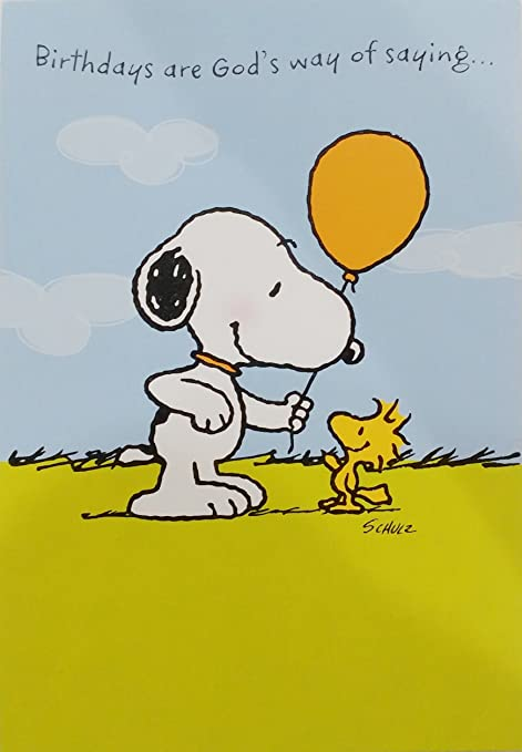 Snoopy Compleanni Are God S Way Of Saying Let S Celebrate You