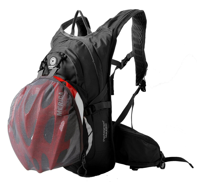 Eazeehome 20L Ultral/éger Sac /à Dos V/élo Cyclisme Sac de Sport /étanche pour Escalade Randonn/ée /Équitation Voyage Alpinisme avec Bandana Noir