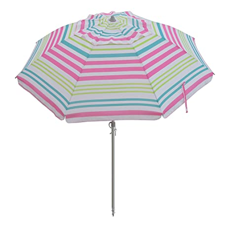 c95bee3c9347 Image Unavailable. Image not available for. Color: Giant Sand Anchor 7 feet Vented  Beach Umbrella with Tilt and Telescoping Aluminum Pole ...