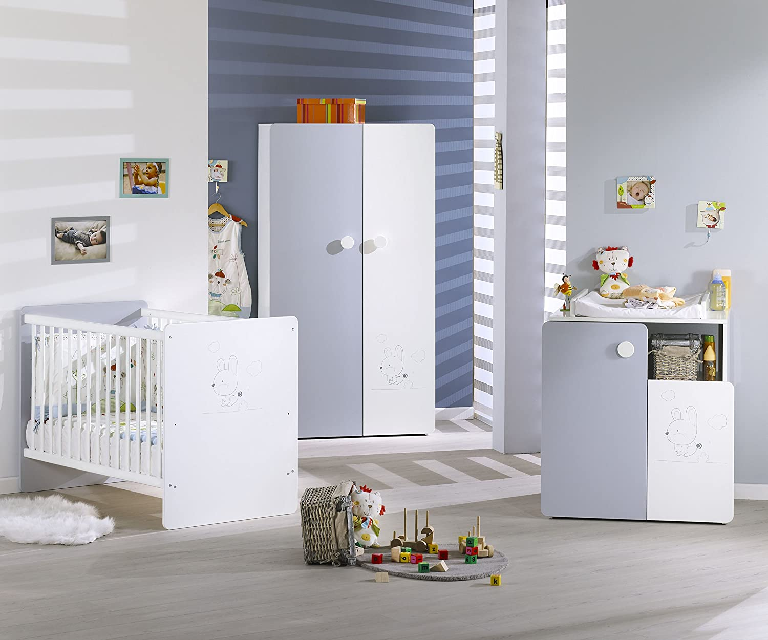 Sauthon on line armoire lucie collection exclusive amazon - Chambre ana sauthon ...