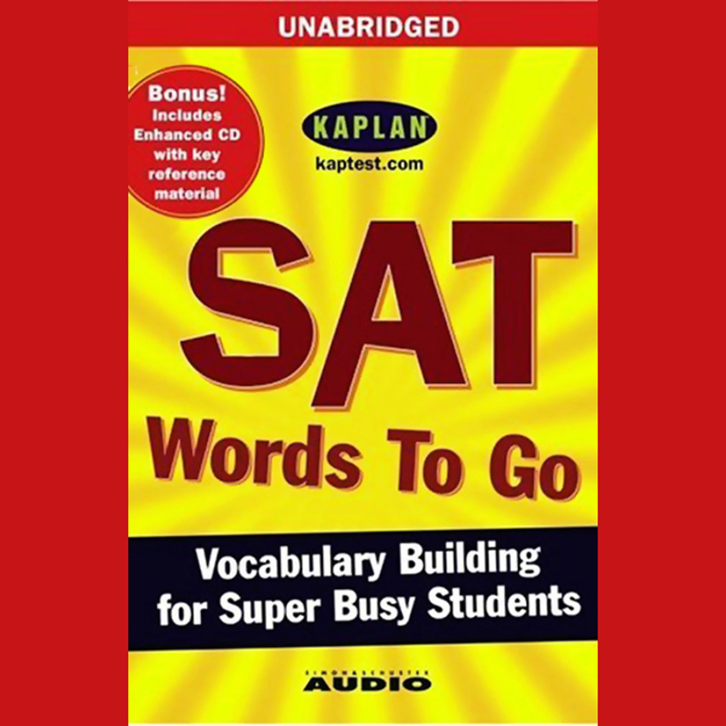 SAT Words to Go: Vocabulary Building for Super Busy Students