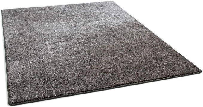 Modern Rug Oxford Hard Wearing Pile In Granite Gut Certified Size 160x230 Cm 5 3 X7 6 Amazon Co Uk Kitchen Home