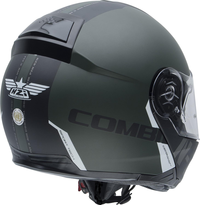 Size L NZI Modular Helmets flydeck Green