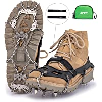 Grm Stainless Steel 16 Spike Crampons Snow Grips