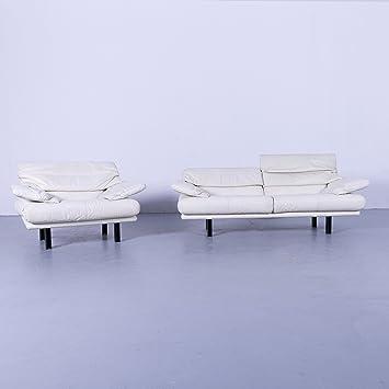 Superb Bb Italia Alanda Leder Sofa Garnitur Zweisitzer Sessel Beutiful Home Inspiration Cosmmahrainfo