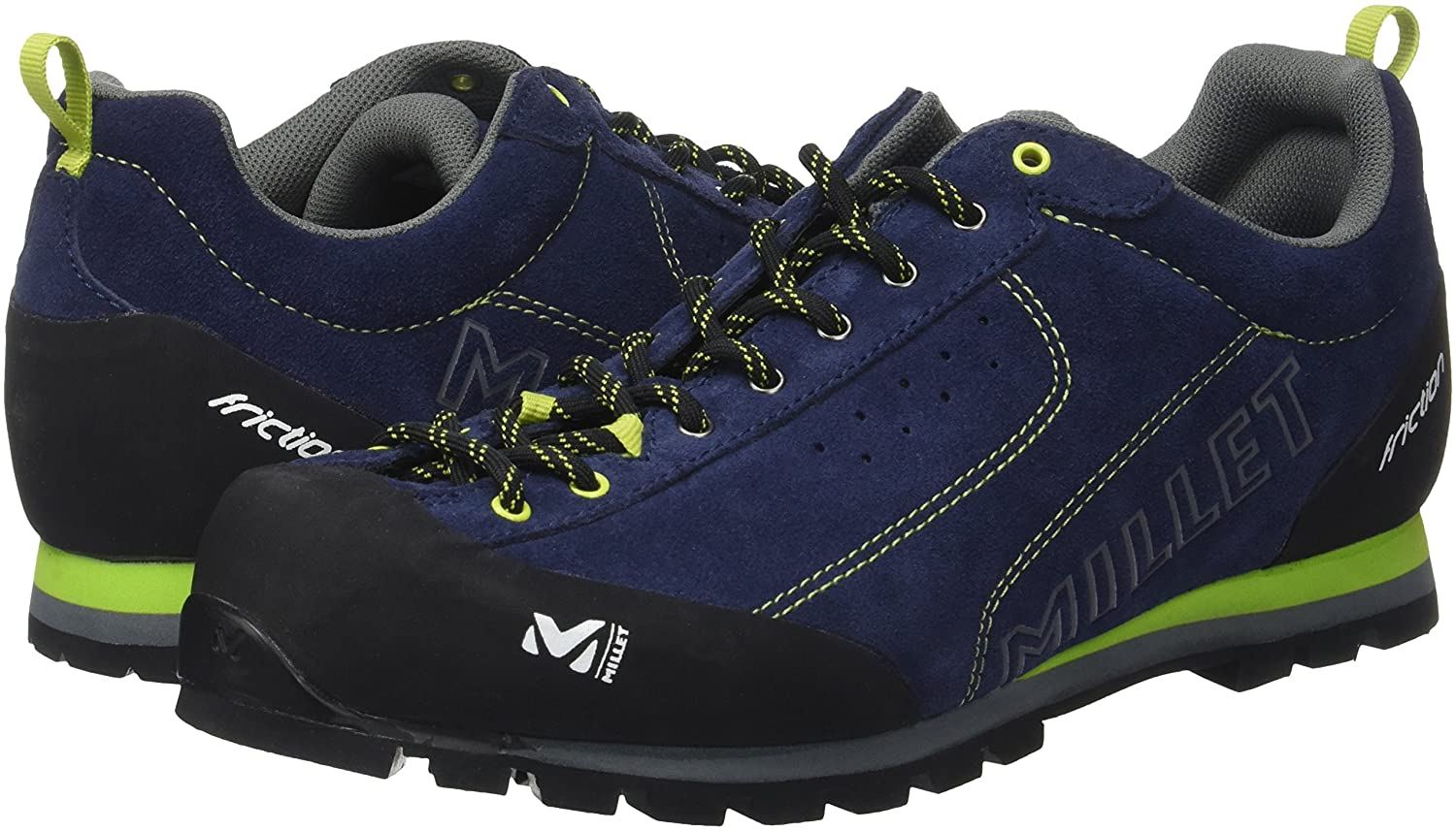 MILLET Friction Chaussures d'Approche Mixte Adulte, Poseidon, Taille 6.5