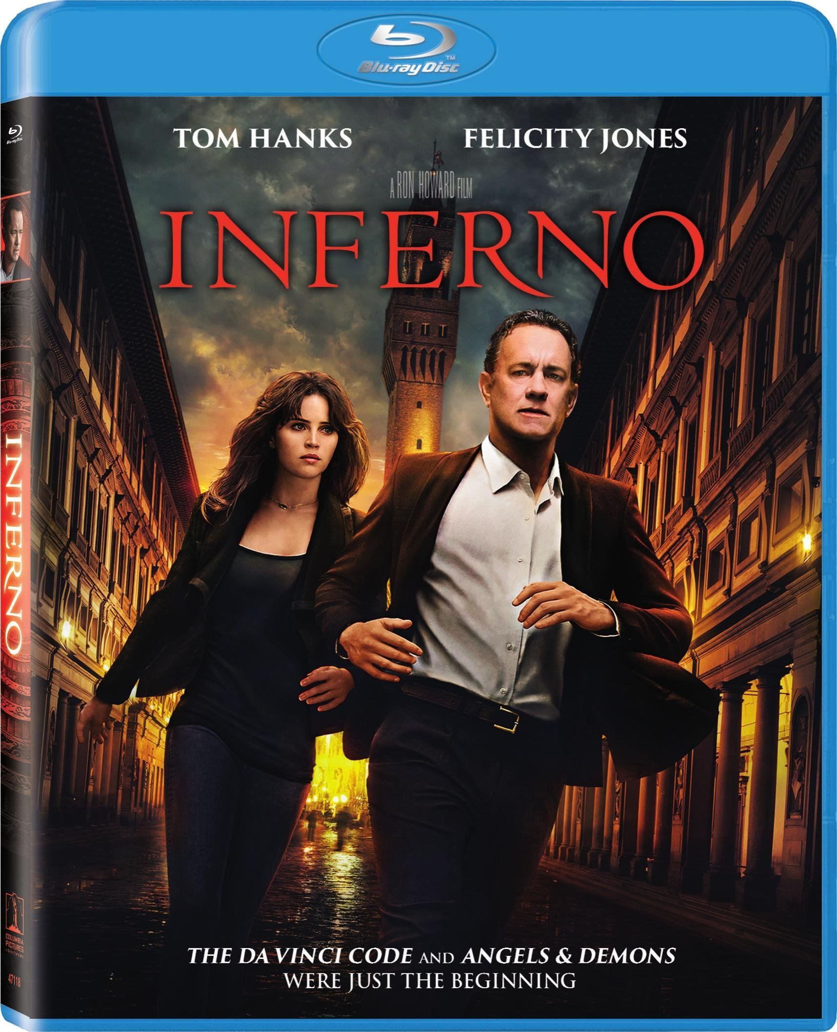 Blu-ray : Inferno (Ultraviolet Digital Copy, )
