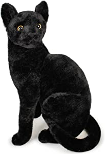 VIAHART Boone The Black Cat | 13 Inch Stuffed Animal Plush | by Tiger Tale Toys