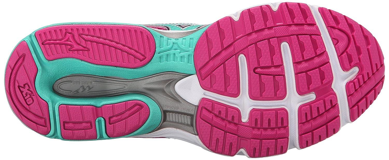 Mizuno Women's Wave Legend 3 Running Shoe B012H5VBGM 6 B(M) US|Fuchsia Purple/Waterfall
