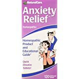 NaturalCare Homeopathic Anxiety Relief, 120 Sublingual Tablets