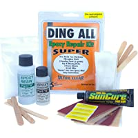 Ding All 3 Oz (84ml) Super Epoxy Repair Kit for Small to Medium Size Epoxy and Polyester Surfboards Repairs