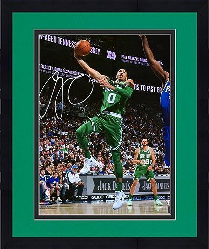 f8504b781f5e Image Unavailable. Image not available for. Color  Framed Jayson Tatum  Boston Celtics Autographed 16 quot  x 20 quot  Layup Photograph - Fanatics  Authentic