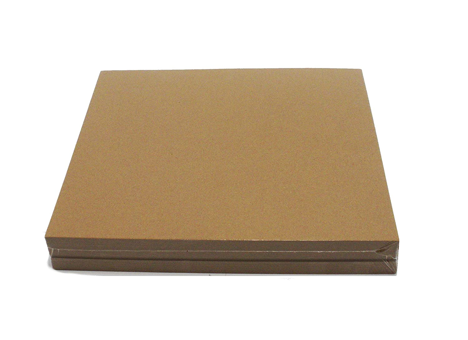 Brown Chipboard 100 Point Extra Thick 12 x 12 Inches.100 Caliper Heavy Cardboard 2.54 mm Thick Kling Magnetics 1013