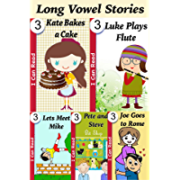 My First Library - A Collection of Long Vowels Phonics Stories for Early Readers : Easy to Read Books for Kids in First Grade (I Can Read Book 3) (English Edition)