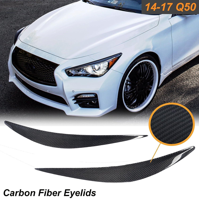 Amazon X Xotic Tech 1 Set Carbon Fiber Eyelid Covers Headlight