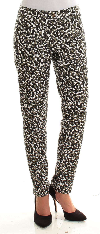 f64737f6285 MICHAEL Michael Kors Women s Miranda Printed Skinny Pants at Amazon Women s  Clothing store