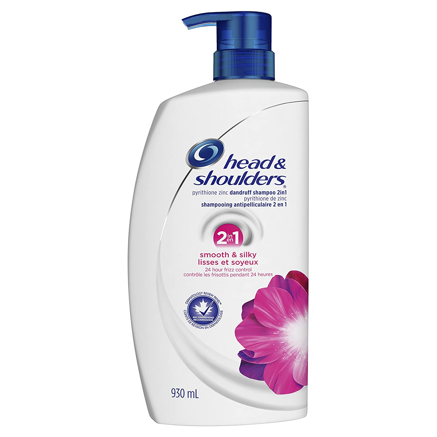 Head & Shoulders Smooth & Silky 2 in 1 Dandruff Shampoo + Conditioner, 930ml Procter and Gamble