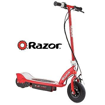 Razor E100 Scooter eléctrico, Hombre, Rojo, Talla Única ...