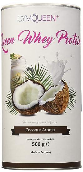 GymQueen Proteína de Whey, Proteína de suero de leche concentrada e aislada, Producto Alemán de Calidad, Coco: Amazon.es: Salud y cuidado personal