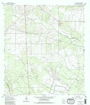 Topographic Map Of San Diego.Amazon Com Yellowmaps San Diego Ne Tx Topo Map 1 24000 Scale 7 5