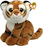 Ty 7175010 - Wild Wild Best - Tigre de bengala Pouncer (33 cm), color marrón [importado de Alemania]