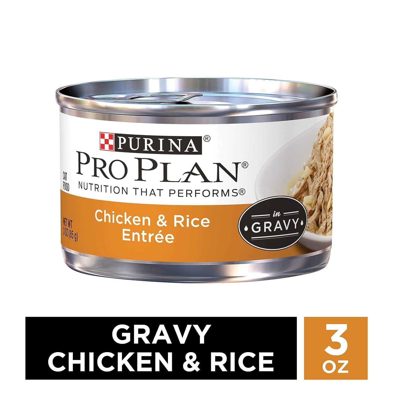 Purina Pro Plan Wet Cat Food, Savor, Adult chicken & Rice ...
