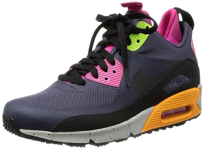 Nike Herren Schuhe AIR MAX 90 SNEAKERBOOT NS blackpink