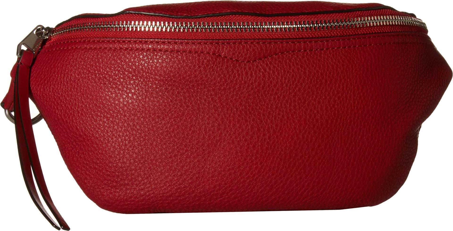 Rebecca Minkoff Women's Bree Belt Bag, Scarlet, Red, One Size