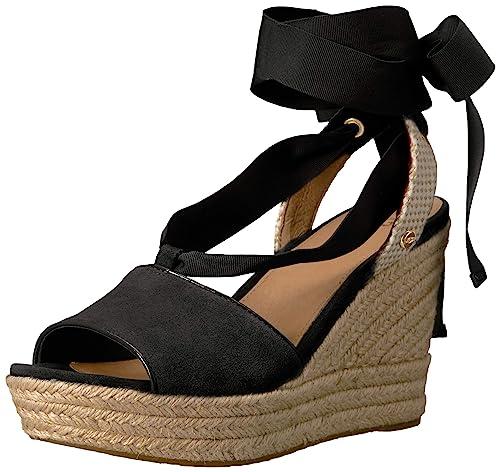 UGG Shiloh Velours Femme Noir: : Chaussures et Sacs