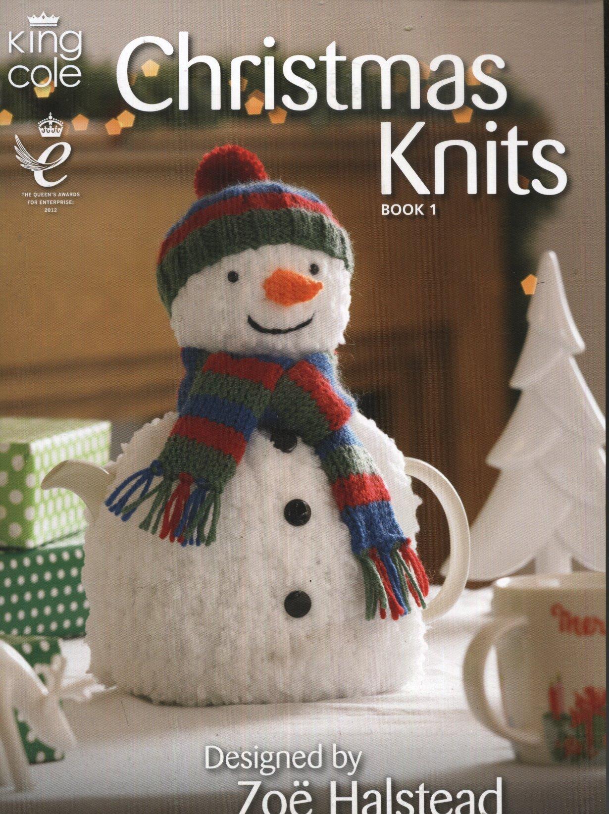 King Cole Knitting Pattern 4111 : DK/Chunky Christmas Novelty ...