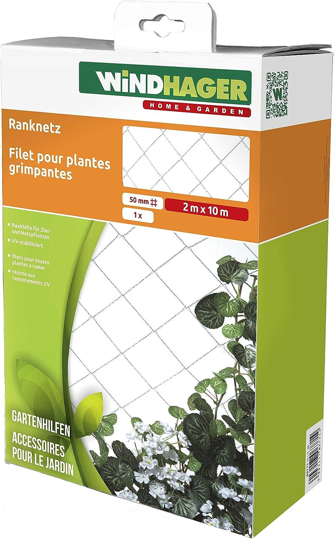WINDHAGER – Red Rank, Malla 50 mm, 10 x 2 m, Verde: Amazon.es: Jardín