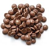 Sweet Wishes 900g Belgische Fondue-Schokolade Vollmilch-Drops - zart schmelzender Hochgenuss feine Leckerei für Schoko-Brunnen Fondue-Sets - beste Qualität - 10 Portionsbeutel zu je 90 g einzeln verpackt