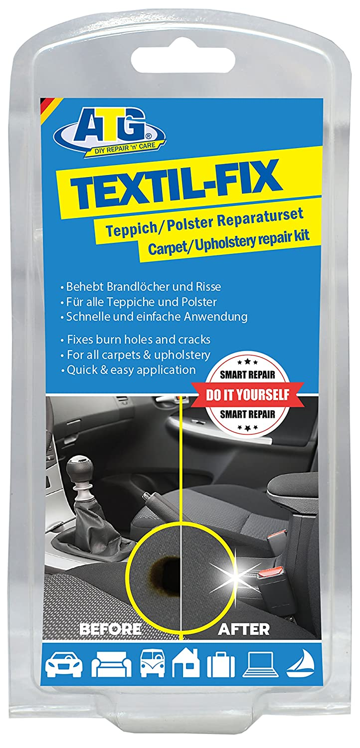 ATG - Car Seat Burn Hole Repair Kit – For All Upholstery – 13 pieces (Assorted Packaging) ATG GmbH & Co KG ATG004