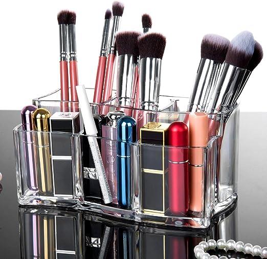 Jolintek Organizador de Maquillaje Acrílica Transparente Caja de ...